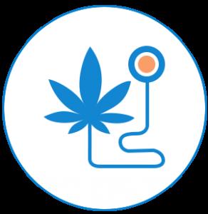 icône du secteur du cannabis