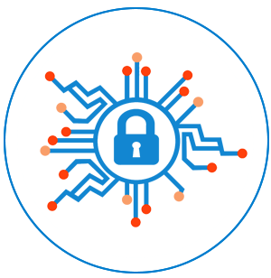 IT and Cyber Security Icon