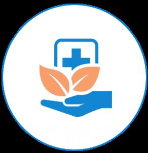 icône de la santé et des soins de santé