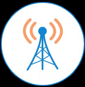 Icône des télécommunications canadiennes