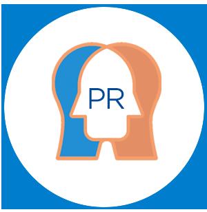 icône des relations publiques