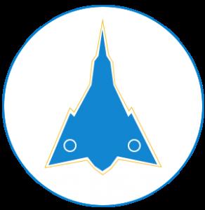 Icône de l'Avro Arrow de la Défense nationale