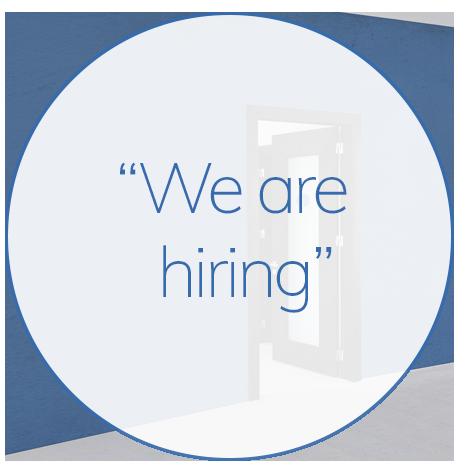 we are hiring at CHG